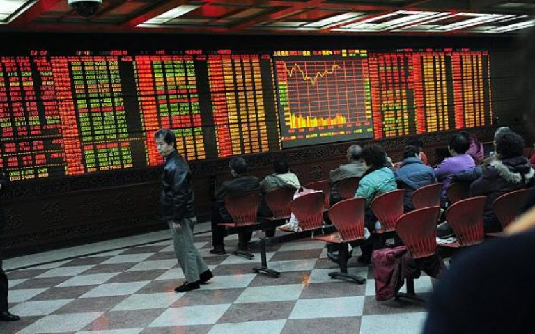 China's stocks rise after growth accelerates in Q3