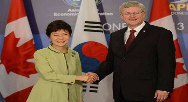 Canada, South Korea close to free trade deal: Canadian PM