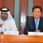 قطر وكوريا الجنوبية وتجارة قدرت 26.8مليار دولار عام 2012، من صادرات قطر الاساسية