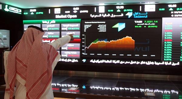 الأسهم السعودية تسجل مكاسب بـ 94 نقطة لتصل إلى مستوى 9678 نقطة