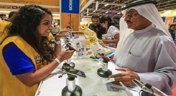 نمو تجارة دبي للهواتف النقالة