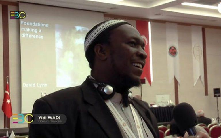 World Foundations Conference Istanbul – Yidi WADI
