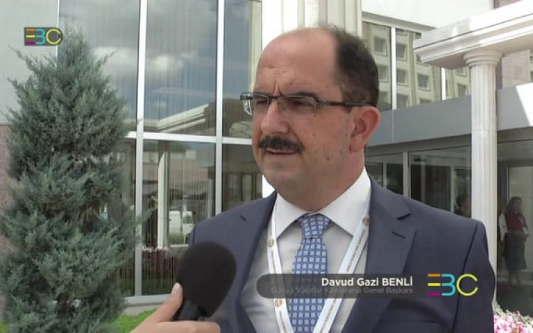 World Foundations Conference Istanbul – Talking with Davud Gazi Benli