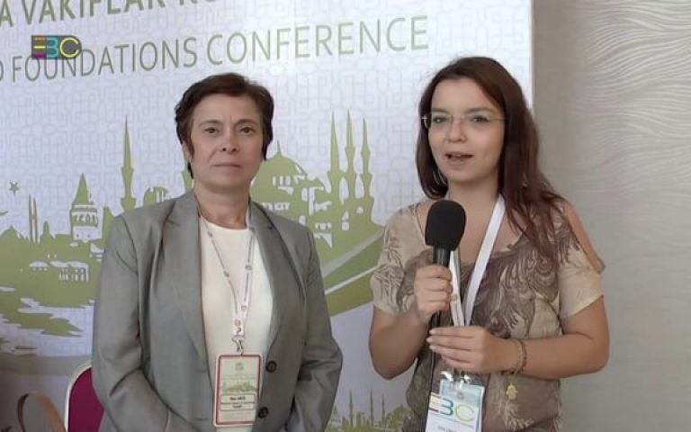 World Foundations Conference Istanbul – Talking with Oya ERCİL