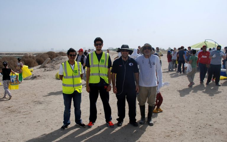 "KFH Participates in ""Beach Cleaning"" Campaign"