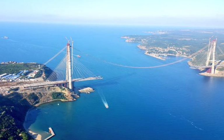 Istanbul's third bridge over Bosphorus to open in May 2016