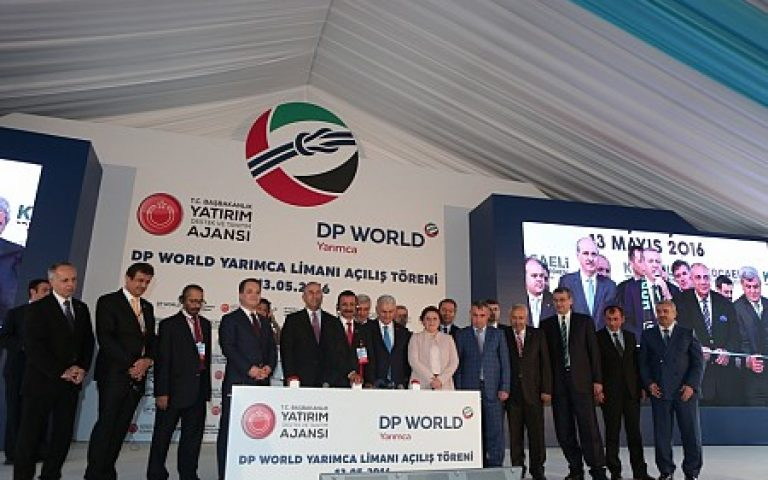 The UAE DP World company opened new port in Turkey