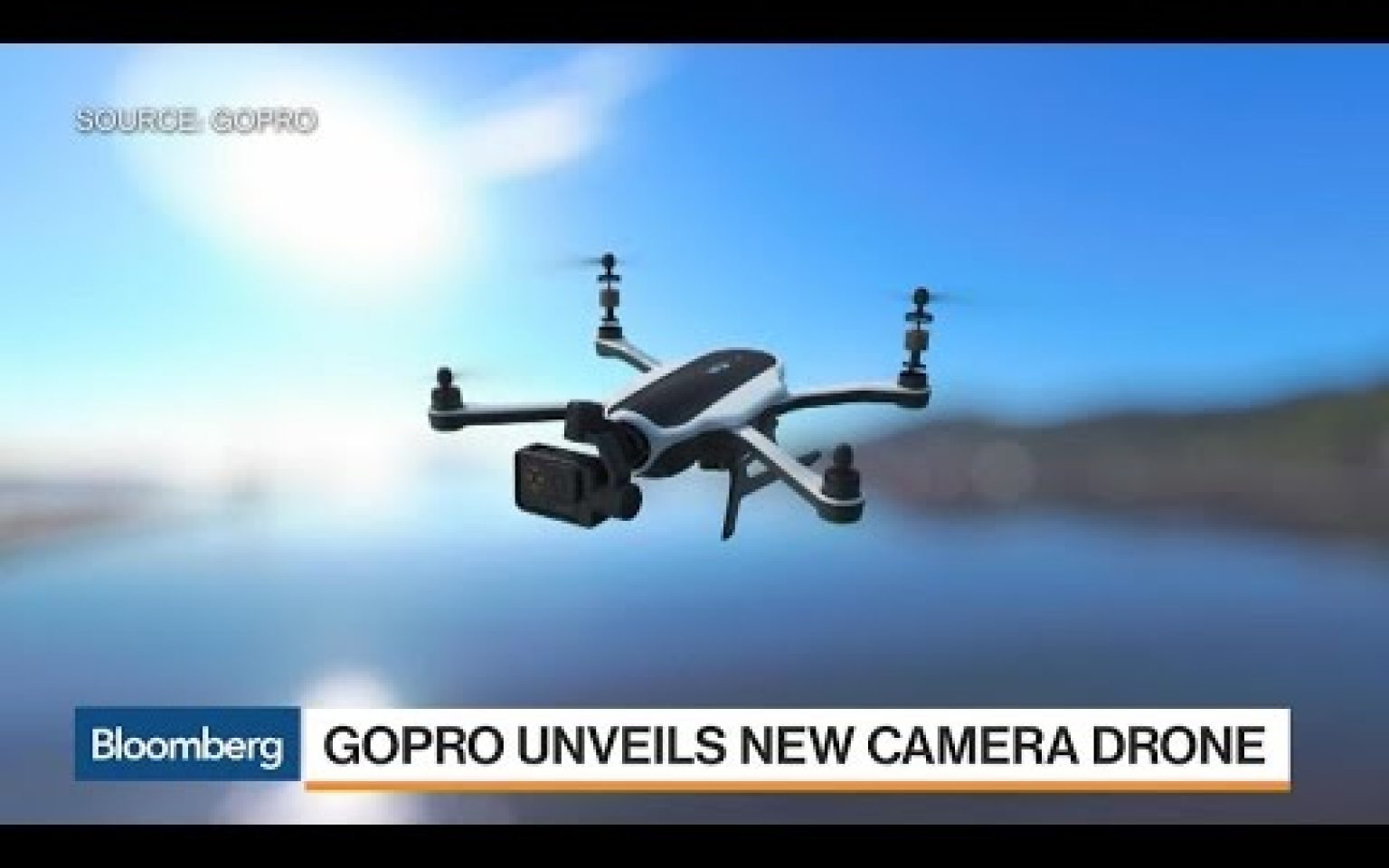 GoPro CEO on New Camera Drone, Company Performance