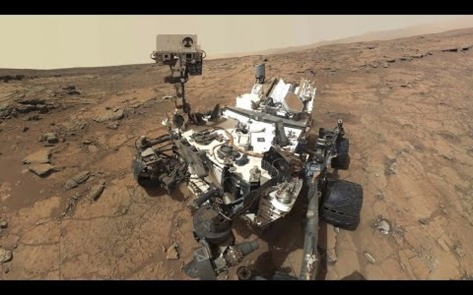 NASA's Mars rover detected a methane spike in Mars