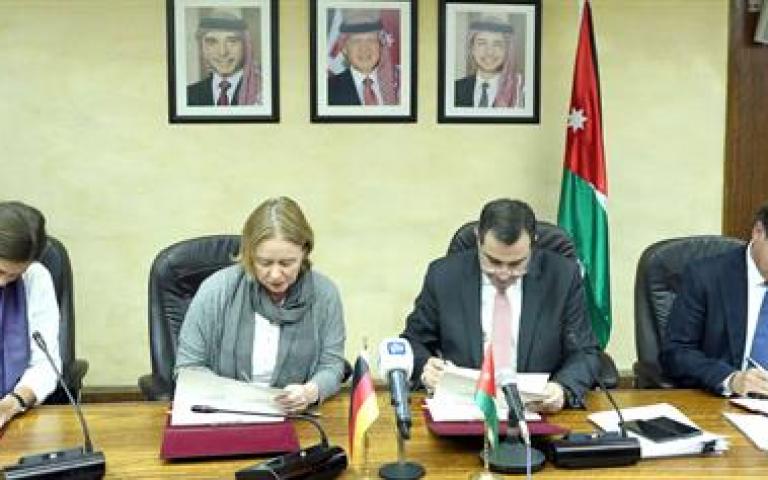 الأردن وألمانيا يوقعان اتفاقية مساعدات بقيمة 320 مليون دولار عمان