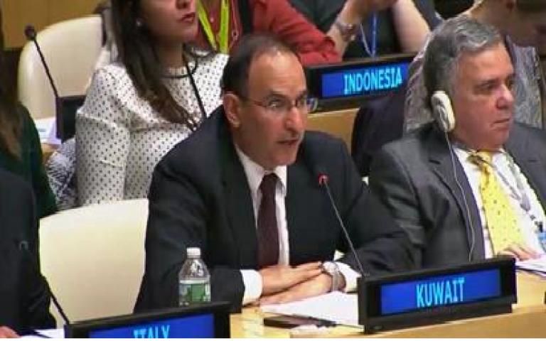 الكويت تتبرع بمليون دولار لضحايا دول البحر الكاريبي جراء الأعاصير التي شهدتها مؤخرا نيويورك