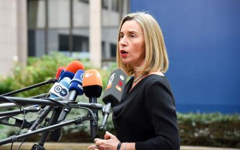 Mogherini: EU position on Jerusalem remains unchanged BRUSSELS