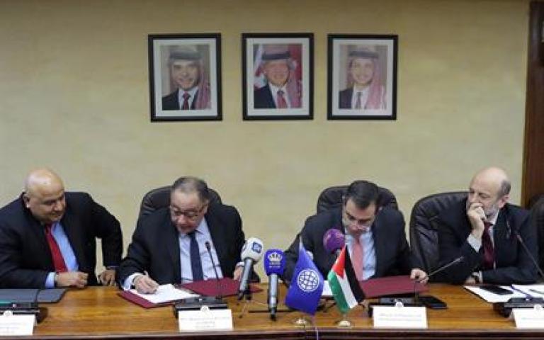 اتفاقية قرض ومنحة من البنك الدولي للاردن بقيمة 200 مليون دولار عمان