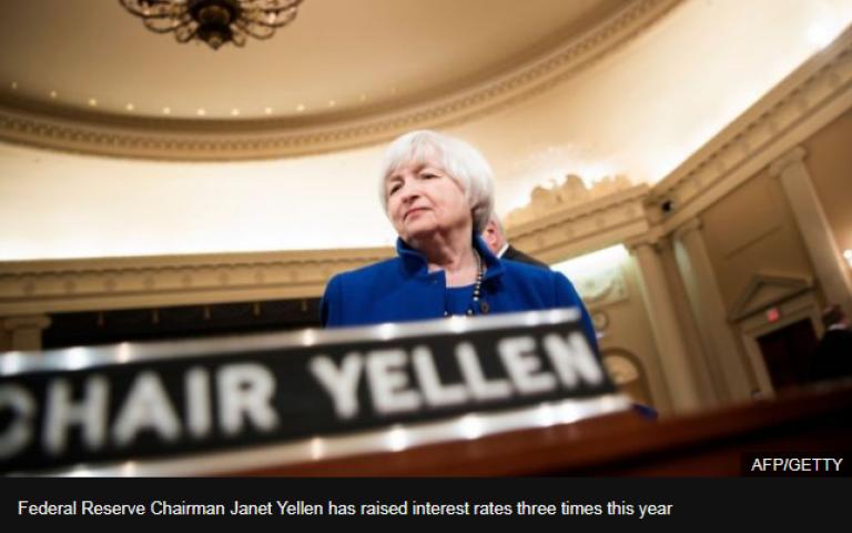 US Federal Reserve raises interest rates again