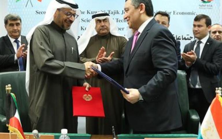 الدورة الثانية للجنة الكويتية الطاجيكية المشتركة للتعاون الاقتصادي تختتم أعمالها الكويت