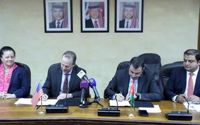 اتفاقية منحة اميركية للاردن بقيمة 475 مليون دولار عمان