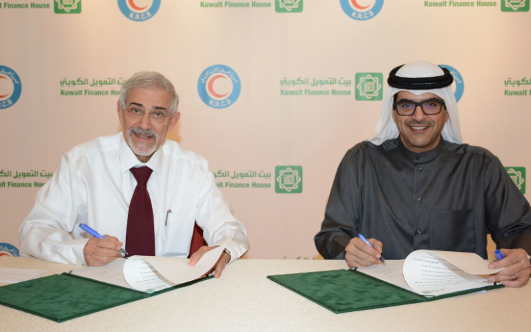KFH Signs Partnership Agreement with KRCS