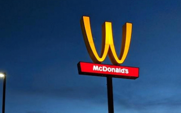 McDonald's is turning its golden arches upside down to make a statement