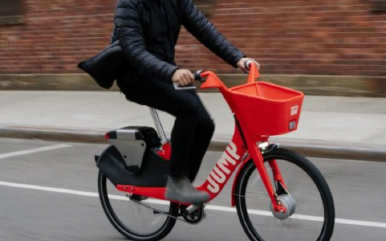 Uber to buy electric bicycle-sharing firm Jump