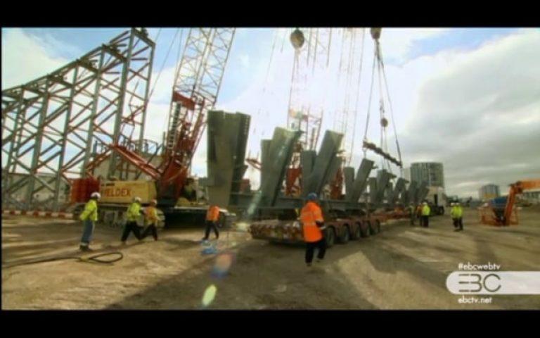 London Olympic (Part 17) إنشاءات ضخمة