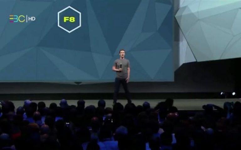 F8 Keynote, Mark Zuckerberg, CEO of Facebook