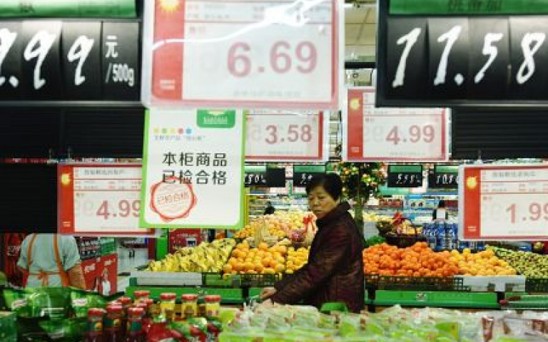 China's July factory inflation slows but consumer prices accelerate