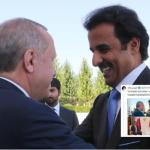 قطر تقف بجانب تركيا في أزمتها