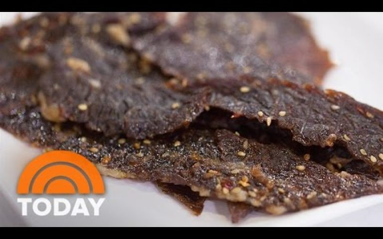 Try Al Roker's Protein-Packed Brisket Jerky For Back-To-School | TODAY