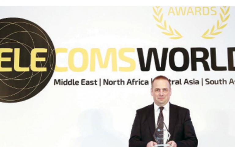 """زين """"أفضل علامة تجارية """" في قطاع الإتصالات في أسواق الشرق الأوسط في حفل توزيع جوائز تيليكوم وورلد لعام 2018"""