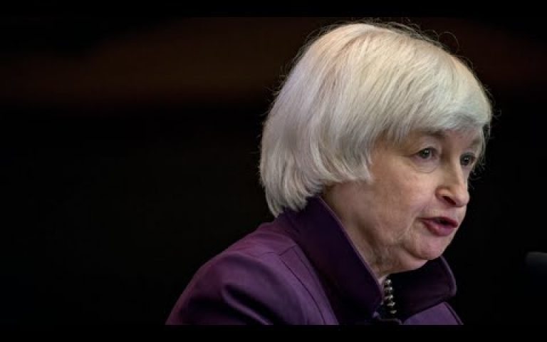 Yellen Shares Economic Outlook After Fed Holds Rates Steady
