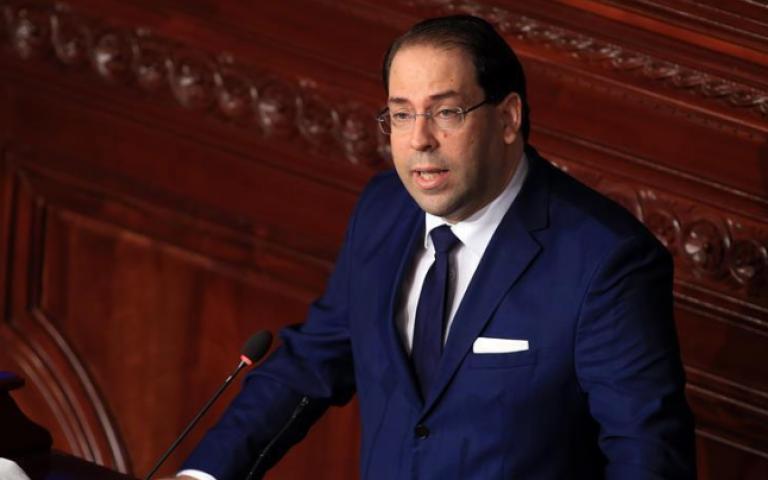 """رئيس الحكومة التونسية يوسف الشاهد، إن """"أولوية حكومته في قانون المالية 2019 اجتماعية بامتياز، عبر معالجة غلاء الأسعار وعدم فرض ضرائب جديدة."""