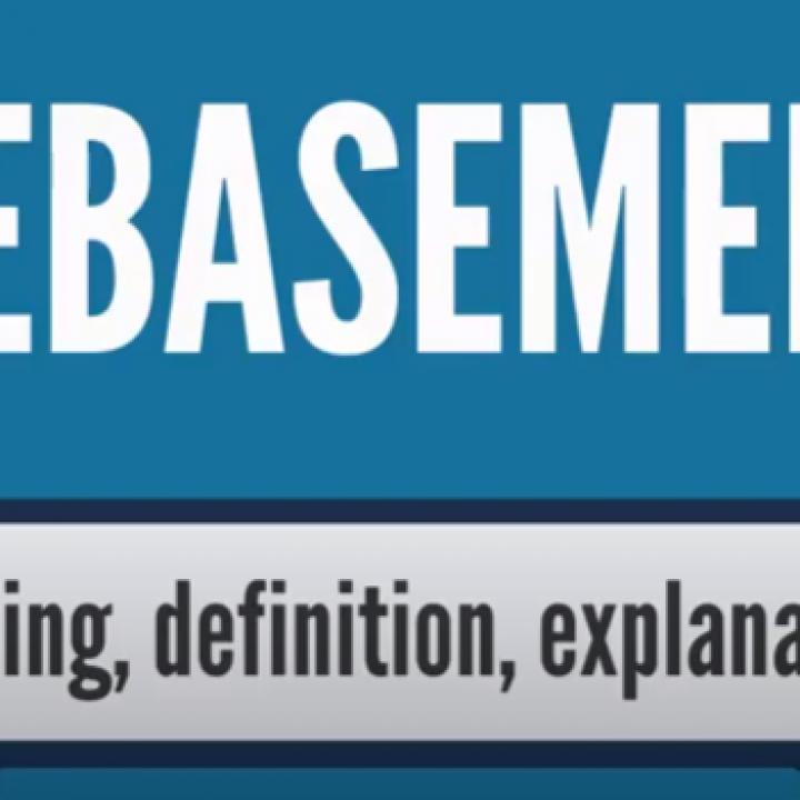 What is DEBASEMENT? What does DEBASEMENT mean? DEBASEMENT meaning, definition & explanation